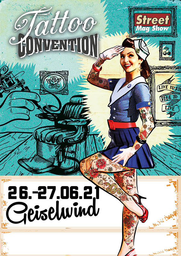 Tattoo Convention 26.-27.06.2021