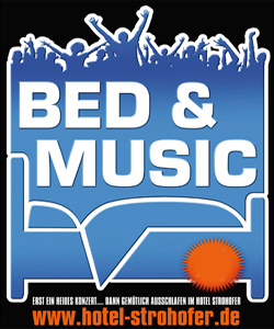 Bed & Music Arrangement im Hotel Strohofer Geiselwind