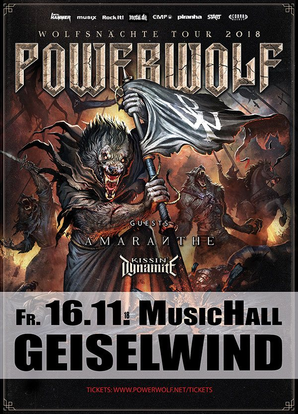 Accept in der Eventhalle Geiselwind