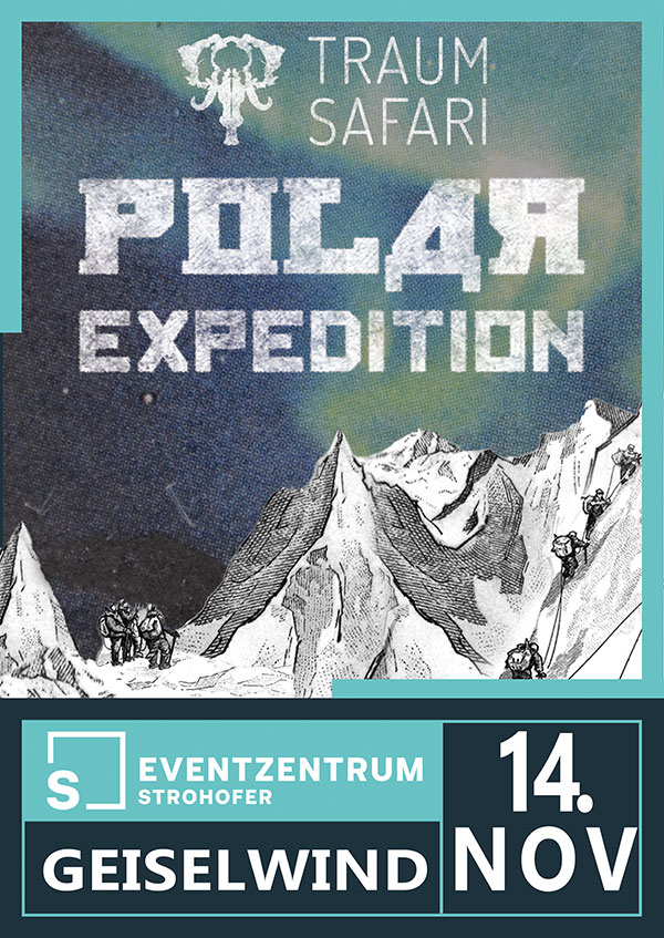 Traumsafari Polarexpedition im Eventzentrum Geiselwind