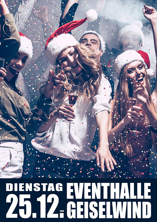 X-MAS-PARTY in Geiselwind