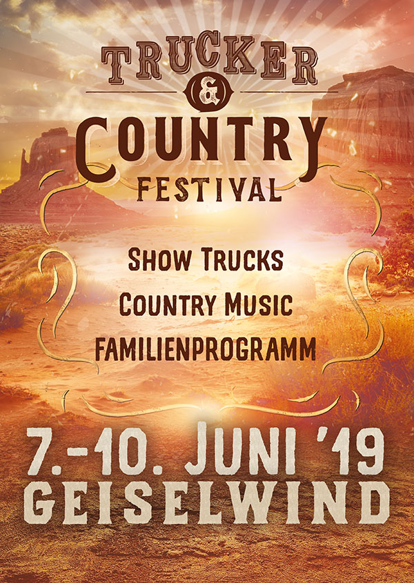 Trucker & Country Festival 07.-10. Juni 2019