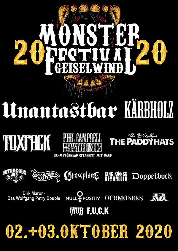 MonsterFestival 02.-03. Oktober 2020