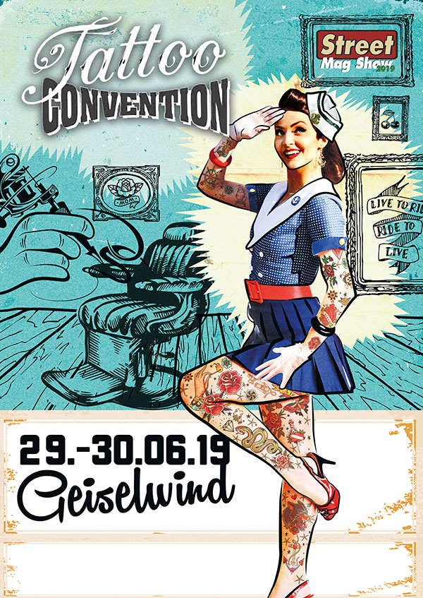 Tattoo Convention bei der Street Mag Show