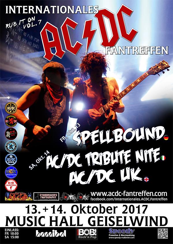 internationales AC/DC Fantreffen Musichall Geiselwind